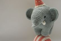 amigurumi elefánt.
