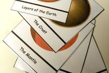 Layers of the earth / by Debbie Blair