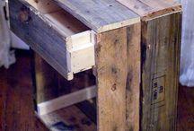 DIY Wood ideas / by Andie M.J.