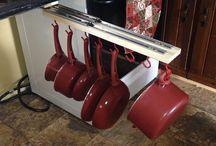 Pots and Pan racks