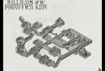 Dungeons maps