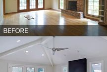 Before and after - home