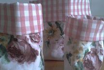 cestas/bolsas de tela