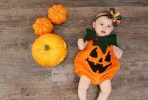 Halloween Pumpkin Baby