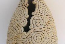 Coiled ceramics