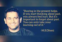 M.S.Dhoni
