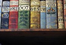 Love collections of old Books... / love the smell.....love the feel...they just look good... / by Deborah Thompson