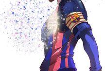 Dibujo y fútbol
