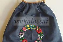 kalocsai táska