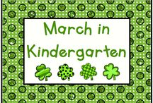 March in Kindergarten / March - a month full of activities for Pre-K to First!  Pin up to 3 ideas, products, or activities for the month like Read Across America, St. Patrick's Day, First Day of Spring, and Easter.  If you would like to pin to this board, please send an email to Lmburns2@gmail.com.   / by KinderLit