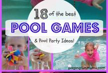 Pool Toys & Games / The summer is all about fun in the sun! These swimming pool toys, diving products and other games will make time in the pool  and in the back yard even more fun!