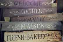 ~*~ Reclaimed Wood Projects ~*~