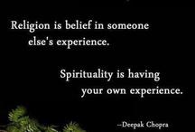 Spiritually