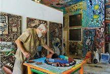 Ceramic tile art
