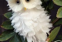 WHOOOO's So Cute / Owl crafts, owl treats, owl cuteness! / by Carolyn Hutson