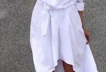 look vestido camisero