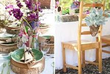 Boho wedding / simply bohemian wedding