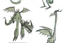 monstre, créatures hybrides