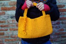 Design crocheted bag