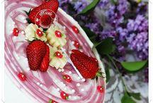 délice aux fraises rhubarbe fondant pistache