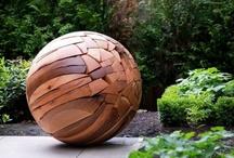 art in the garden / by Kathryn Prideaux