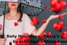 Daily Horoscope -Today's by astrologer Alinda kanaki