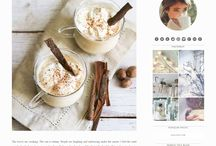 Feminine Blogger templates / A collection of fresh, pretty Blogger Templates great for bloggers.