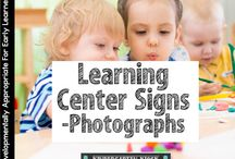 Learning Centers / Building quality learning centers in kindergarten and Pre K