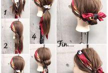 *Hair stile*