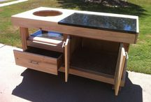 Green big egg table
