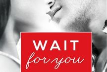 Saga Wait For You- Jennifer L. Armentrout / Each book contains different characters, but linked together.(Cada libro contiene personajes diferentes, pero unidos entre sí.) 1- Wait For You (Esperare por ti), 1.5- Trust in Me (Confía en mi), 2- Be With Me (Estar Conmigo), 3- Stay With Me ( Quédate Conmigo) 4- Fall With Me (Caer Conmigo)