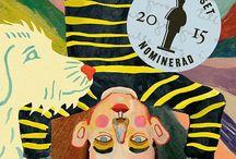 Din tur, Adrian / Din tur, Adrian - en Augustnominerad grafisk roman/bilderbok av Helena Öberg och Kristin Lidström, www.mirandobok.se