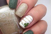 St. Patty day nails