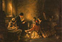 Greek artist=Nikolaos Gyzis (1842-1901)-Theodore Jacques Rallis (1852-1902)