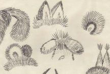 рисование штрихом