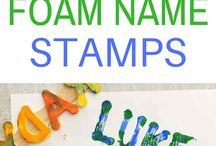 PreK & K Name Activities