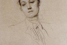 Gustav Klimt Drawings