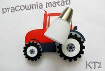Kinkiet - traktorek