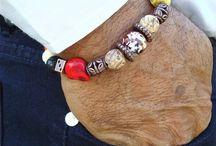 Men's bracelets, jewellery & things