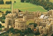 Windsor Castle / Steeped in history, Windsor Castle perches proudly on a lush wooded hill overlooking the Thames. Dating back to Norman times, with sweeping landscaped gardens and turreted Round Tower, it's easy to see why it's the Queen's favourite weekend residence. http://beta.goldentours.com/windsor_bath_and_stonehenge_with_lunch