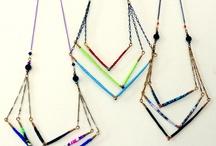 DIY Inspiration: Thread Necklaces / by Maerri Lou