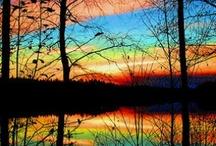 kleurrijk licht