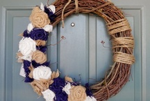 Wreaths / Cute and Easy DIY Wreaths for all holidays and seasons