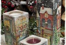 χριστουγεννιατικα κερια