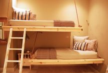 Suspended bed ideas