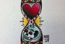 Traditional tattoo / by Thomas Maero