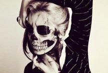maquillaje esqueleto