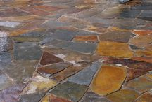 Patio & Driveways by Empire Stone Company / Whether you are using flagstone, pavers, or oversize slabs, the possibilities are endless creating designs and patterns to suite your individual style and needs.