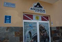 Aquarius dive center Tenerife / Aquarius dive center, padi 5 star and Scubapro S.E.A. diving centre in the South of Tenerife, Las galletas, El Fraile