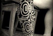 leg maori tat